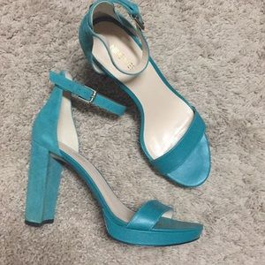Nine West Platform Ankle Strap Sandals
